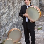 Shane with Frame Drums - web